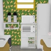 Cozinha do escritório