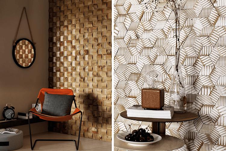 Blog politorno decora o com revestimento 3d for Revestimento 3d sala de estar