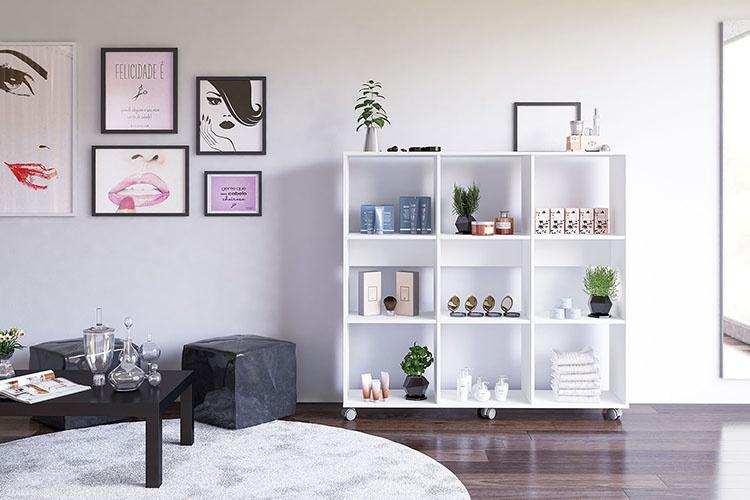 Blog Politorno - 3 móveis para organizar seu salão de beleza