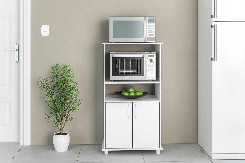 Balc o blumenau politorno for Mueble horno y microondas