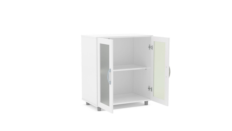 Balcão ITAIM 2 portas com vidro Ref.: 3219 #6B6B60 1500x844 Balcao Banheiro Fibra